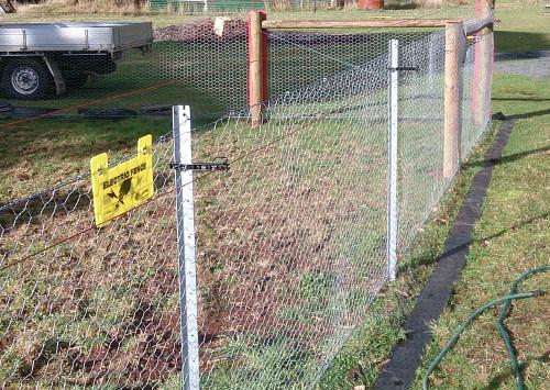 Corner Fencing Strutts